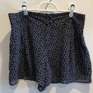 LC Lauren Conrad Polka dot shorts